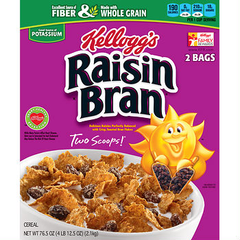 raisin bran box