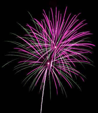 Wheeeeeeeeeeeeeee!  Fireworks!