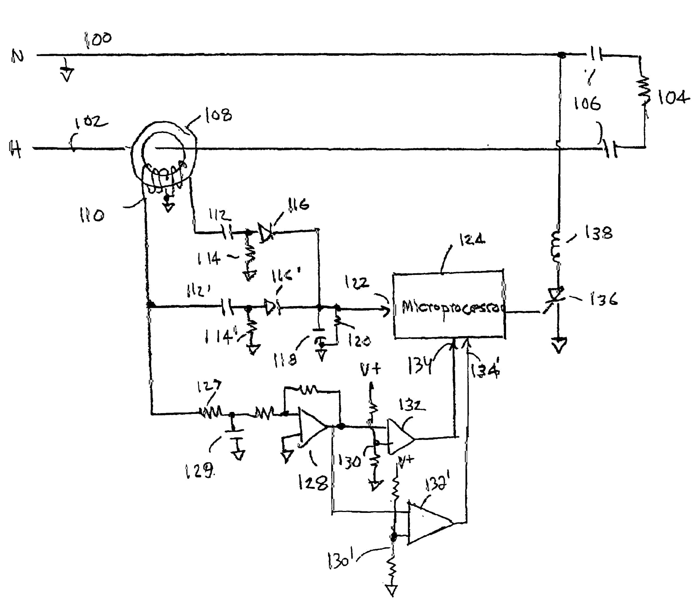 Arc Fault Interrupt Circuit Topology