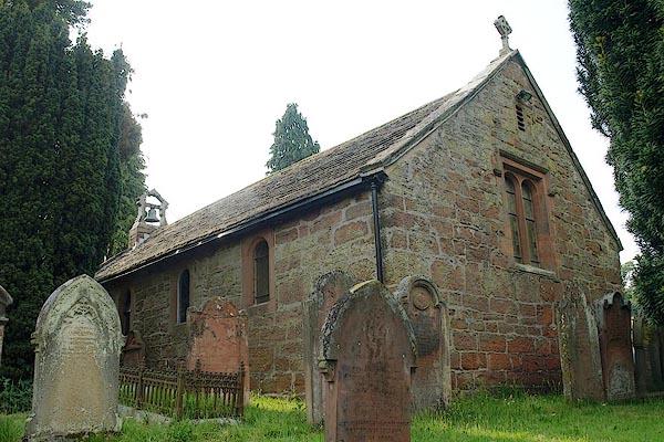 Old Cumbria Gazetteer, Christ and St Mary, Armathwaite