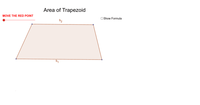 Area of Trapezoid – GeoGebra