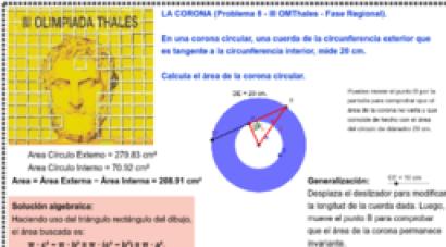Olimpiada Matemática Thales 2º ESO
