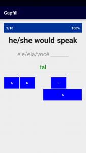 Portugese Verb Blitz