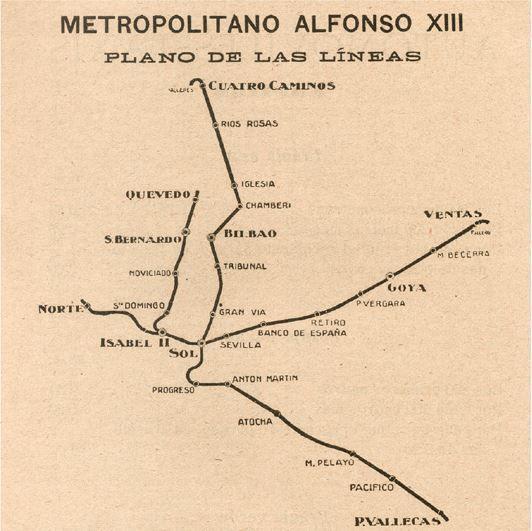 Metro de Madrid durante el reinado de Alfonso XII