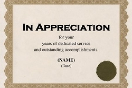 microsoft word template for certificate of appreciation » Free ...