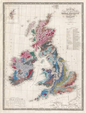Map of the United Kingdom of Great Britian and Ireland     Map of the United Kingdom of Great Britian and Ireland