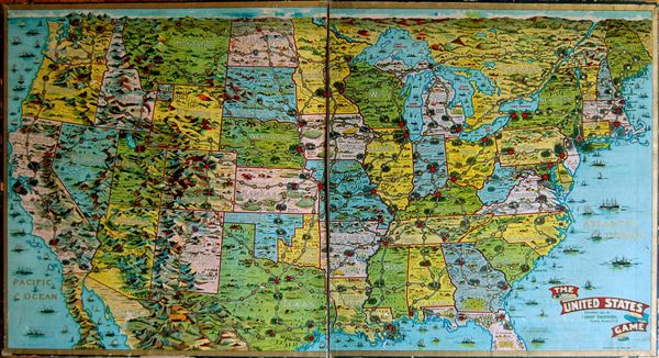 With 50 states in total, there are a lot of geography facts to learn about the united states. The United States Game Geographicus Rare Antique Maps