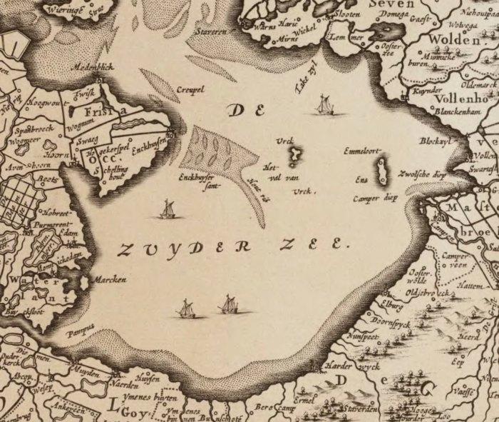 Niederlande Ijsselmeer Karte.Urk Und Schokland Zwei Ehemalige Inseln Rundumeinblick Niederlande