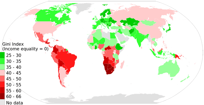 world income map