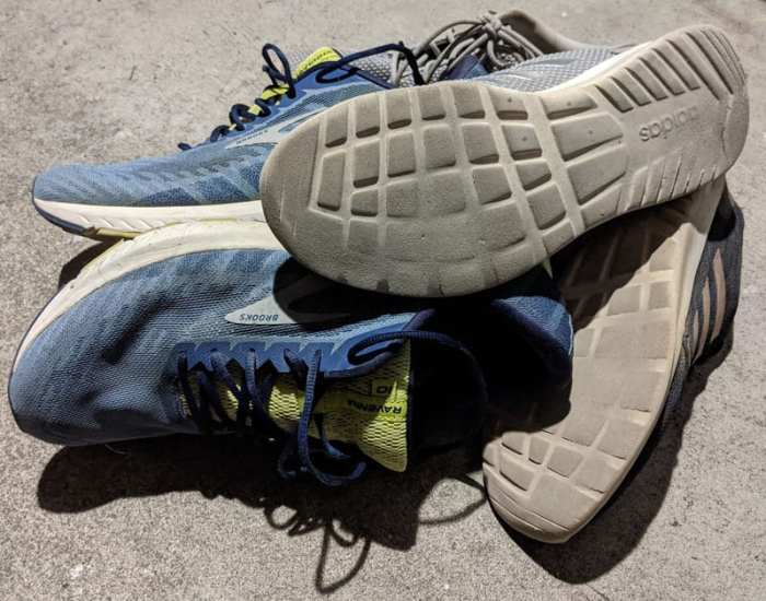 Recycle your old sneakers.