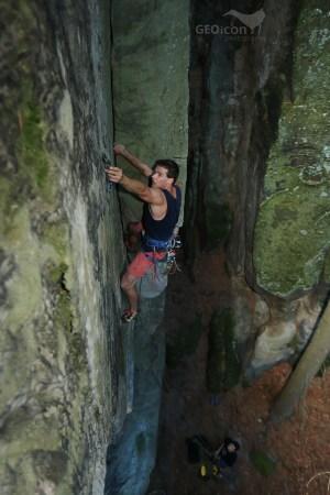 Climbing in Prachov 2020