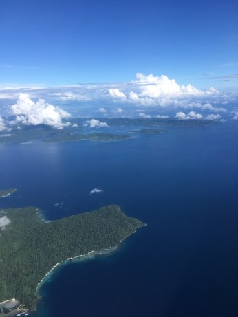 A bird's eye view of Raja Ampat