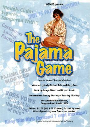 ThePajamaGame flyer