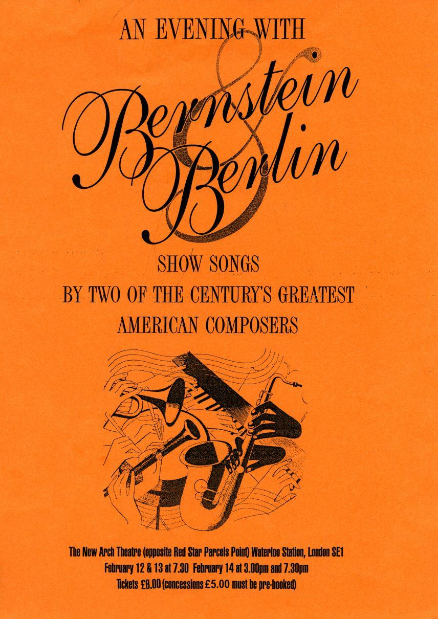 1998 Bernstein & Berlin Flyer (front)