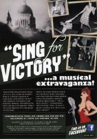 2011 Sing for Victory Flyer