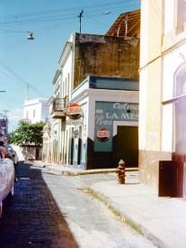 Calle Sol esq. calle Hospital (1954)