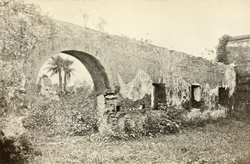Ruins of church at Pueblo Viejo.