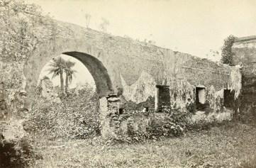 Ruins of church at Pueblo Viejo.