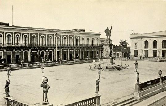 Plaza of Mayagüez.