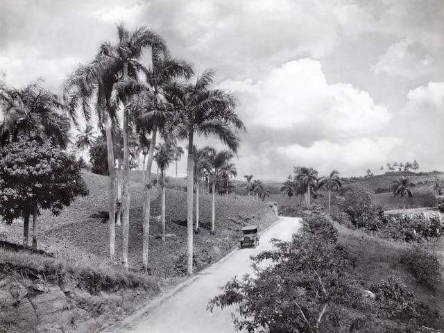 Carretera Central (1924) colección Charles Martin