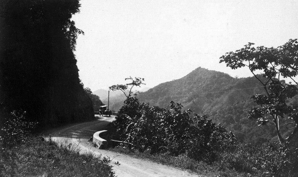 Carretera Central - tramo Aibonito (c. 1900)