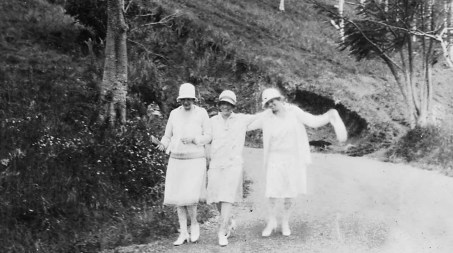 Gertrude, May, Bessie. Porto Rico.