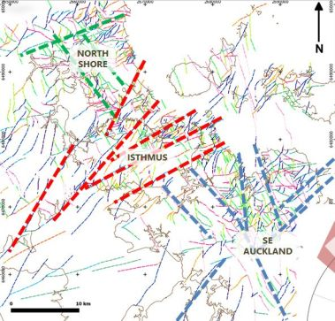 Main fault trends in Auckland