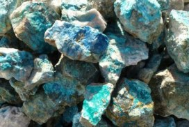 Krysokolla stenar