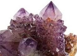 Fina Ametistkristaller från Sydafrika