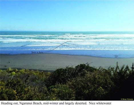Ngarunui beach