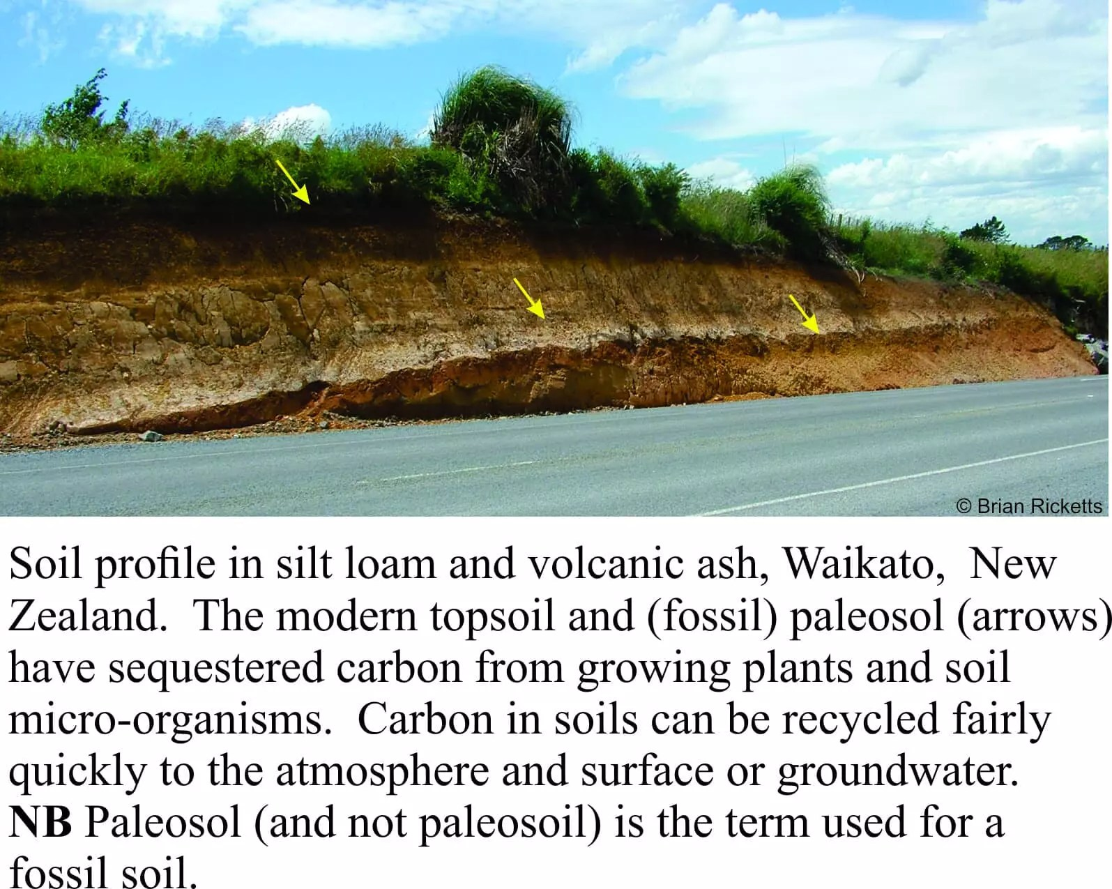 Climate change a geo perspective geological digressions for Soil and geology