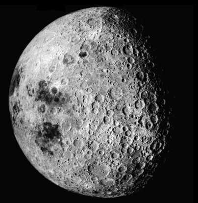 "Moon ""The far side of the moon"" Credit: NASA"