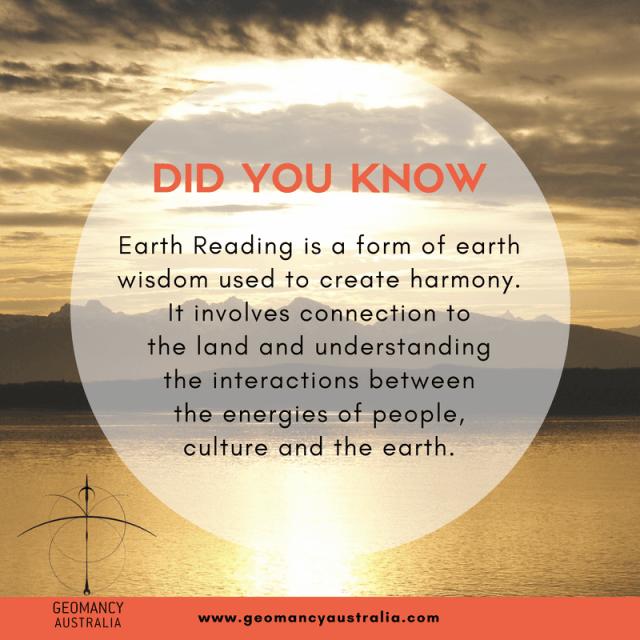 Earth reading is earth wisdom