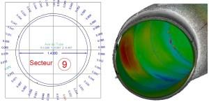 Colorimétrie et quantification des écarts entre le projet et l'existant