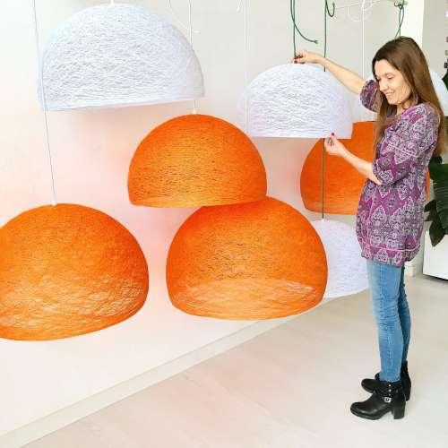 Pendant lamp Nordic design - HALF SPHERE
