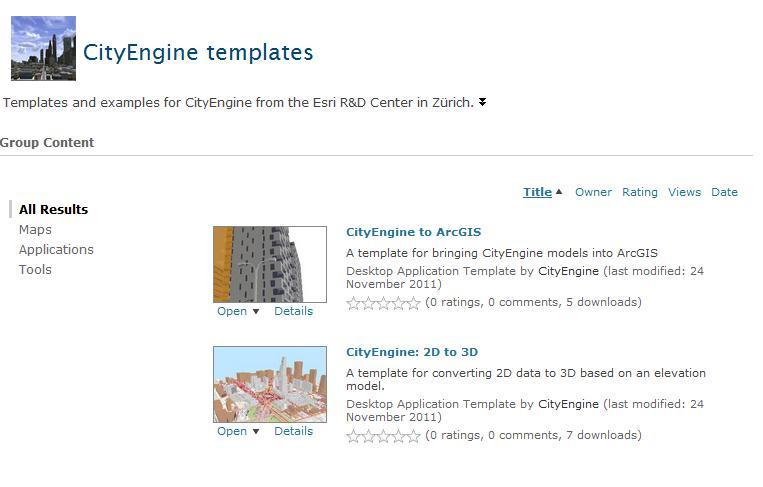 ArcGIS CityEngine Templates - GeoPlanIT
