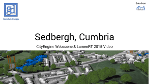 Sedbergh Demo Video Title