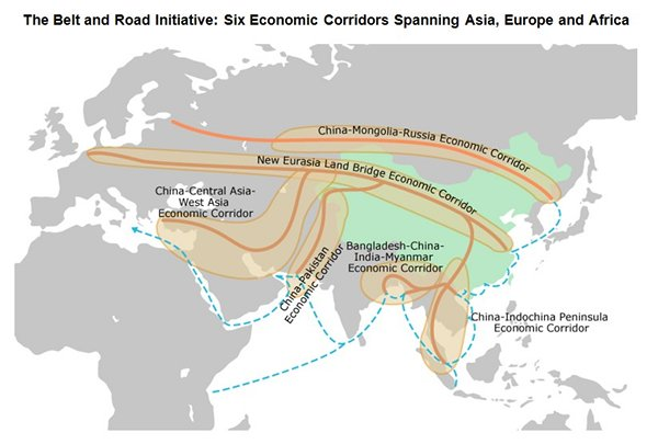 Maps of the Silk Road | Belt and Road Center