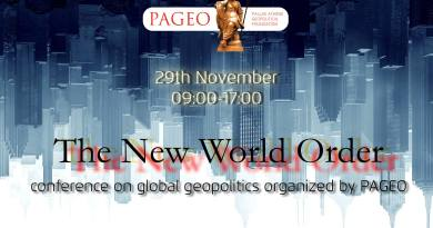 The New World Order – PAGEO conference on 29 November, Budapest