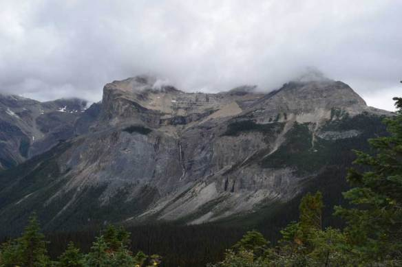 View from the Burgess Shale hike trail.
