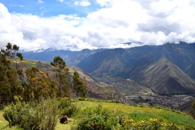 The town of Urubamba is nestled in the Sacred Valley, about 33 miles northwest of Cusco.