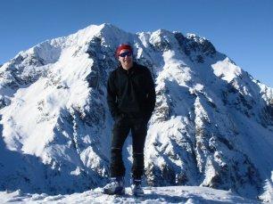 Gipfelfoto am Schilchegg