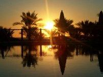 Ein neuer Tag erwacht mit dem Sonnenaufgang um ca. 6:25 Uhr