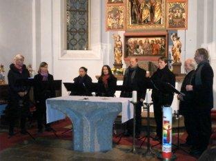 Cantus Amabilis beim Konzert in Morzg (Foto: S. Güntner)