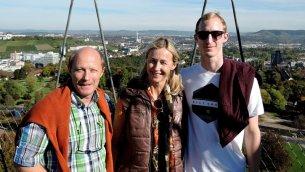Am Killesberg-Turm liegt uns Stuttgart zu Füßen