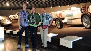 Unter den Silberpfeilen im Mercedes-Benz-Museum