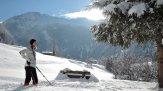 Tiefer Winter unterhalb des Seeguts