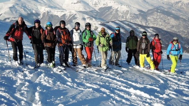 Gruppenfoto mit unseren beiden Guides am letzten Tag