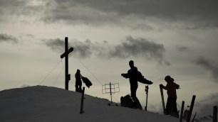 Föhnstimmung am Gipfel des Kreuzecks