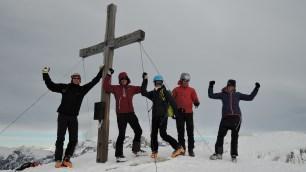 Gipfeljubel am Kreuzeck (2.204m)